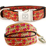 Bombay Adjustable Nylon Dog Collar - Rocco's Pets  - Collars - Diva Dog  - 2