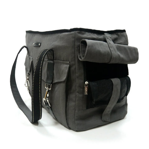 Dogo Pet Buckle Canvas Tote Pet Carrier