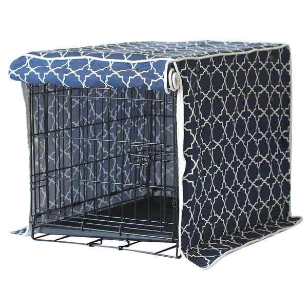 Romeo & Juliet Dog Crate Cover - Rocco's Pets  - Crate Cover  - Molly Mutt  - 1