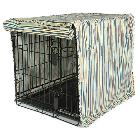 "Dog Crate Cover ""I dont like Mondays"" - Rocco's Pets  - Crate Cover - Molly Mutt Small (24"" x 21"" x 18"") - 1"