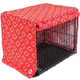 Lady in Red Dog Crate Cover - Rocco's Pets  - Crate Cover - Molly Mutt  - 1