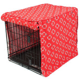 Lady in Red Dog Crate Cover - Rocco's Pets  - Crate Cover - Molly Mutt  - 3