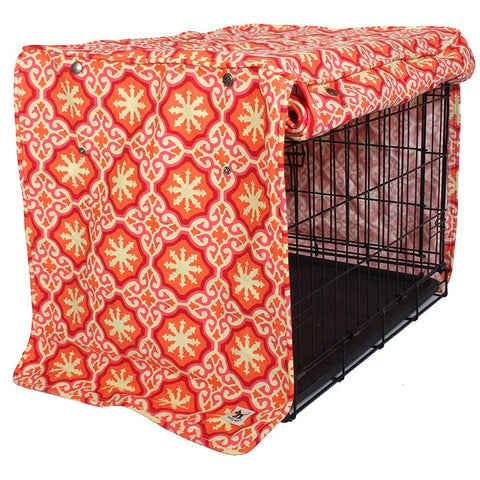Papillion Dog Crate Cover - Rocco's Pets  - Crate Cover - Molly Mutt  - 1