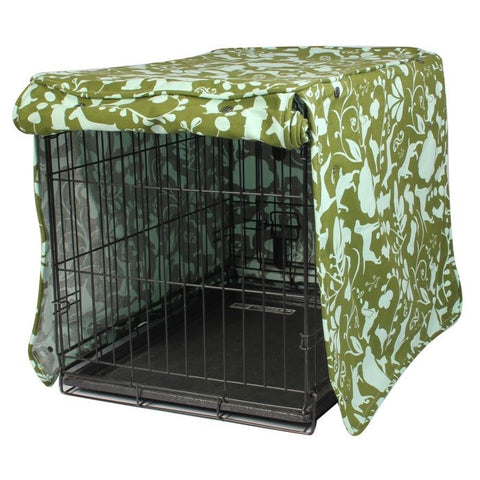 Amarillo by Morning Dog Crate Cover - Rocco's Pets  - Crate Cover - Molly Mutt
