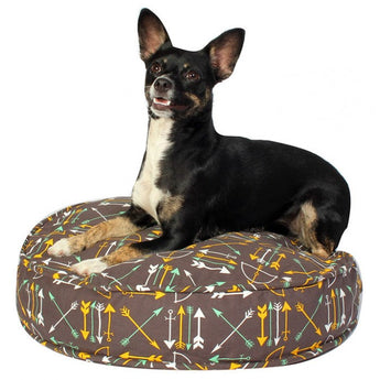 "Lion's Roar Dog Bed Duvet - Rocco's Pets  - Dog Bed - Molly Mutt Round (36"" x 36"" x 5) - 3"
