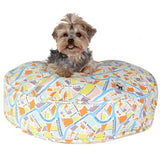 "Crossroads Dog Bed Duvet - Rocco's Pets  - Dog Bed - Molly Mutt Round (36' x 36"" x 5"") - 1"