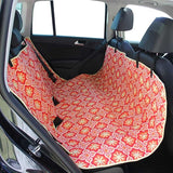 "Molly Mutt ""Papillion"" Orange Multi-Use Hammock, Cargo & Car Seat Cover"