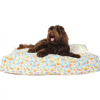 "Crossroads Dog Bed Duvet - Rocco's Pets  - Dog Bed - Molly Mutt Medium/Lge (27""x36""x5"") - 4"