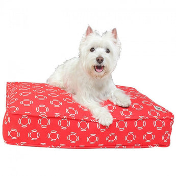 Lady in Red Dog Bed Duvet - Rocco's Pets  - Dog Bed - Molly Mutt  - 2