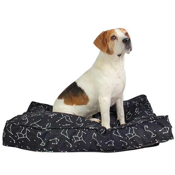 "NEW! Rocketman Dog Bed Duvet - Rocco's Pets  - Dog Bed - Molly Mutt Small (22"" x 27"" x 5"") - 1"
