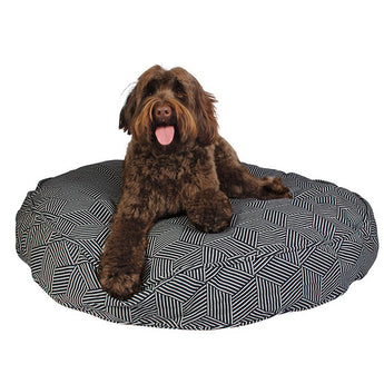Rough Gem Round Dog Bed Duvet