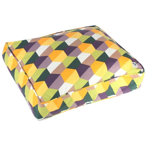 "Molly Mutt Aurora Borealis ""Honeycomb"" Dog Bed Duvet"