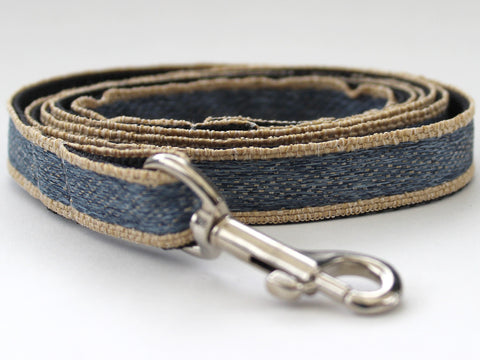 Denim Design Dog Leash
