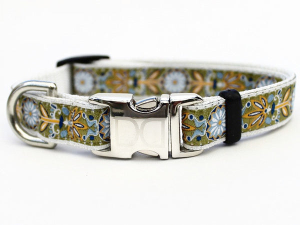 Downtown Dolly Adjustable Nylon Dog Collar - Rocco's Pets  - Collars - Diva Dog
