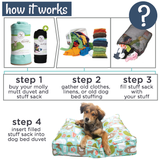 Stuff Sack - Rocco's Pets  - Dog Bed - Molly Mutt  - 4