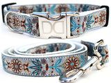 Boho Morocco Adjustable Nylon Dog Collar - Rocco's Pets  - Collars - Diva Dog  - 3