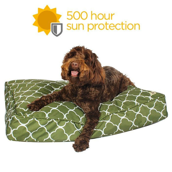 Dew in the Grass Outdoor Dog Bed Duvet - Water Resistant