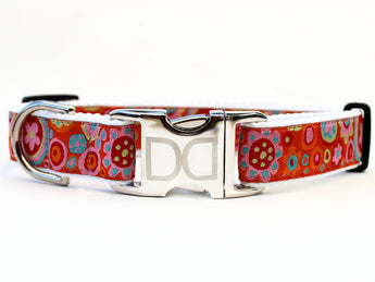 Ibiza Gumdrop Ribbon Dog Collar