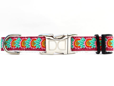 Nantucket Summer Adjustable Dog Collar