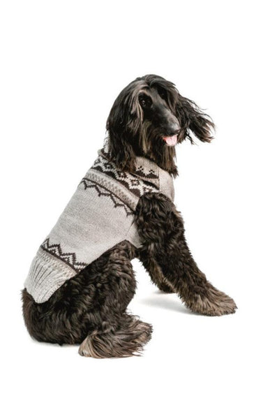 Chilly Dog Alpaca Smokey Wyatt Handmade Dog Sweater