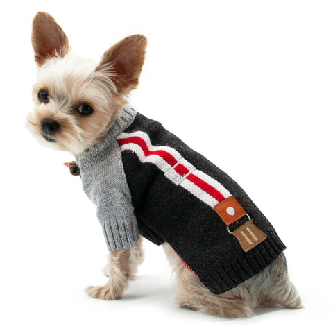 Dogo Pet Dog Pullover Suspender Sweater