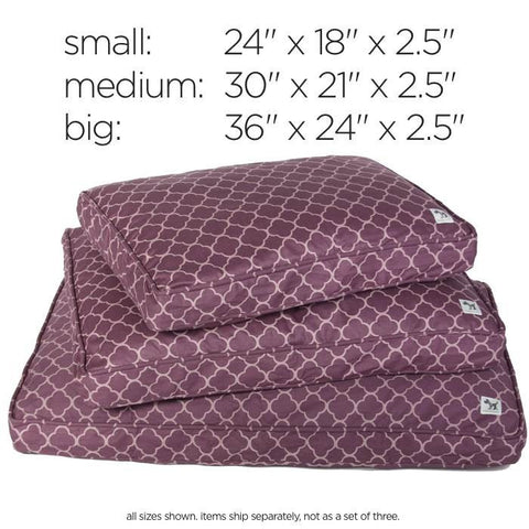 Crate & Kennel Mat 100% Natural Wool Royals Purple