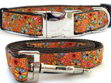 Woodstock Spirit Adjustable Ribbon Dog Collar