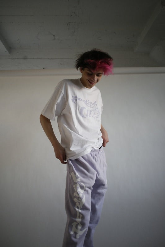 Purple Foolish Cult Sweatpants