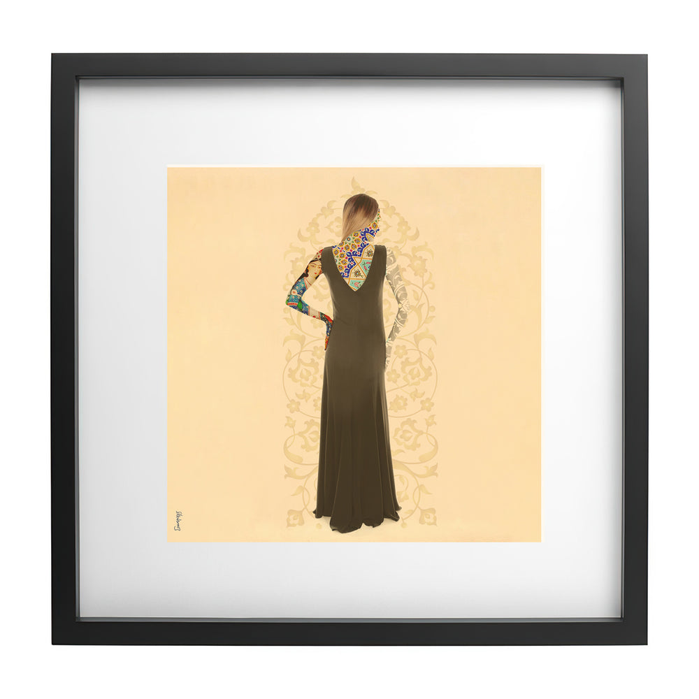Load image into Gallery viewer, Hafez - Ready Framed Print