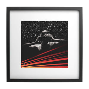 Load image into Gallery viewer, Snow - Ready Framed Print