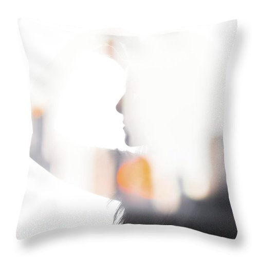 City - Throw Pillow