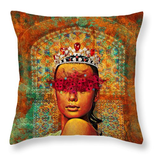 Entitled - Throw Pillow