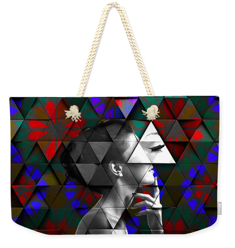 Load image into Gallery viewer, Eye Lashes - Weekender Tote Bag