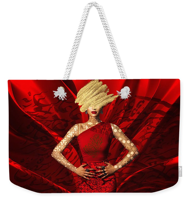 Load image into Gallery viewer, Fall in love - Weekender Tote Bag