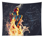 Fire and Water - Tapestry