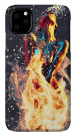 Fire and Water - Phone Case