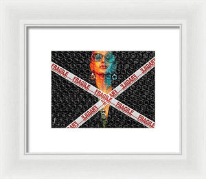 Load image into Gallery viewer, Fragile - Framed Print