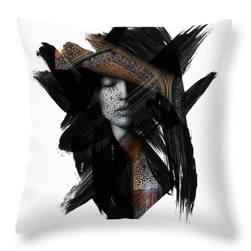 Heart's Eye - Throw Pillow