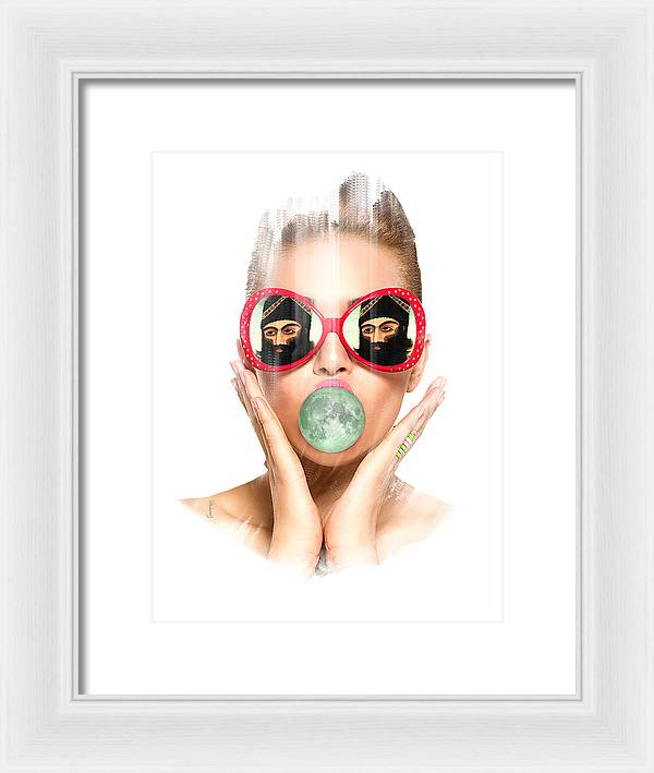 Just for fun - Framed Print