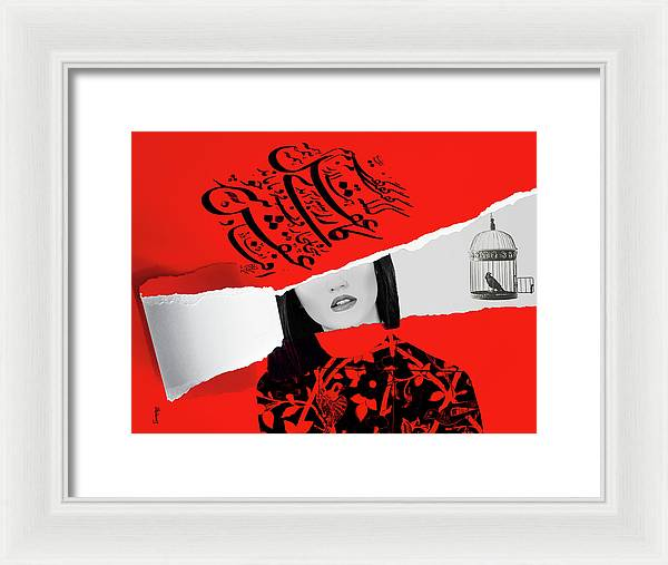 Mind and Love - Framed Print