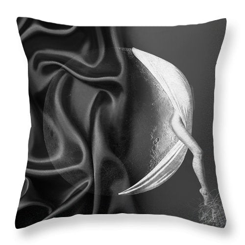 Moon Crescent - Throw Pillow