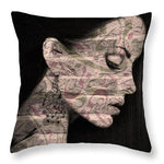 Nightly Whispers - Throw Pillow