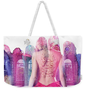 Load image into Gallery viewer, This and That - Weekender Tote Bag