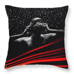 Snow - Throw Pillow