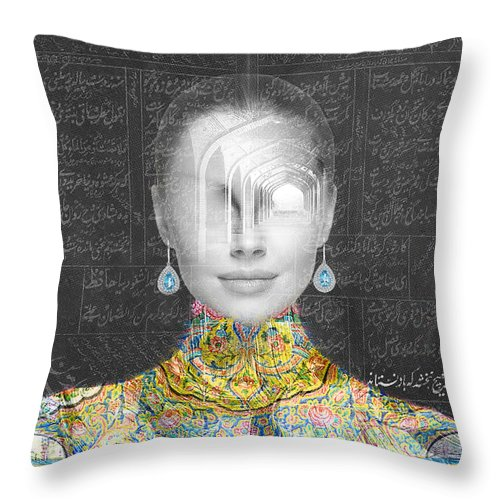 Zamaneh - Throw Pillow