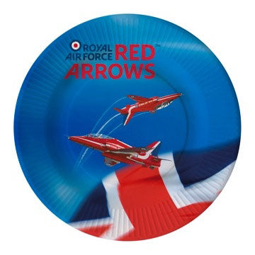Red Arrows Plates 6 Pack