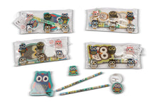 Load image into Gallery viewer, Owl Filled Pencil Case