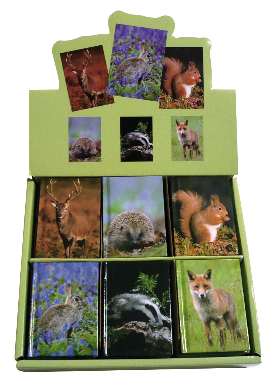 UK Wildlife Mini Notebook