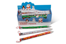 Load image into Gallery viewer, Christmas Jumbo Pencil