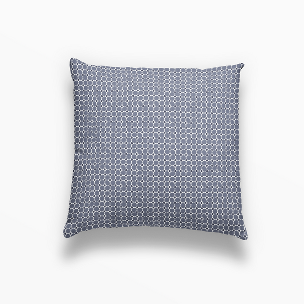 Cobblestone Pillow in Ink